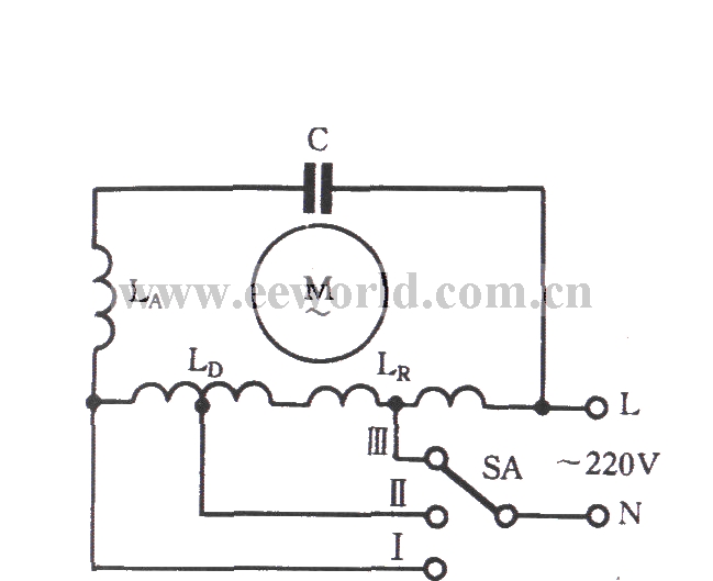 Single Phase Induction Motor Winding Connection