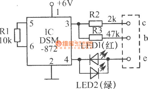 The speed tester circuit for testing transistor quality
