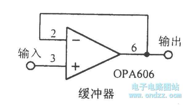 The OPA606 broadband Difet operational amplifier circuit