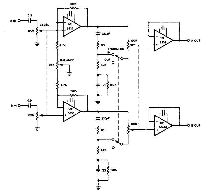 Loudness Control Schematic, Loudness, Get Free Image About