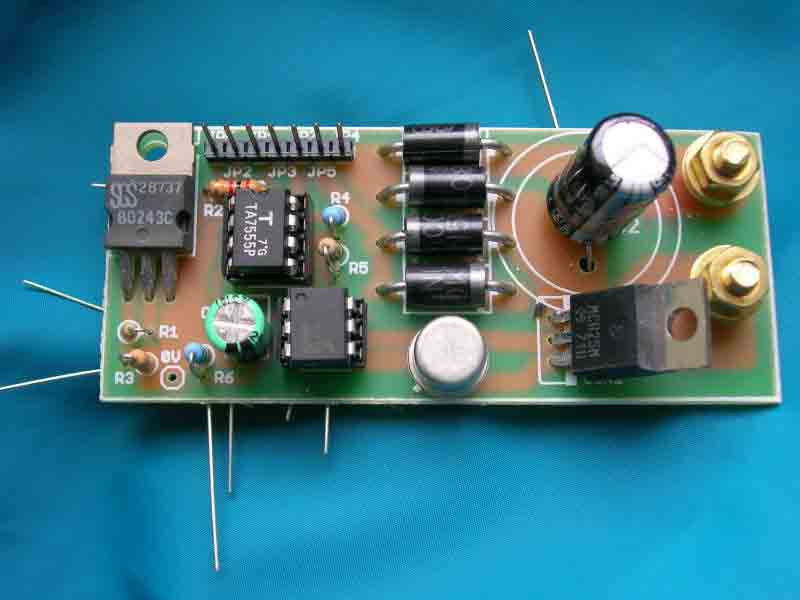 Battery Tester Measuringandtestcircuit Circuit Diagram Seekic