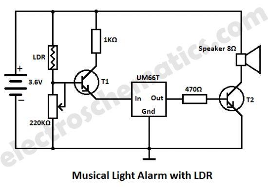 simple ldr light alarm