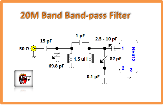 20m Bandpass Filter 3 Signalprocessing Circuit Diagram Seekic