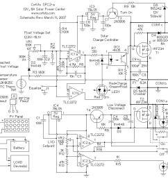 spc2 6 amp solar power center [ 1125 x 822 Pixel ]