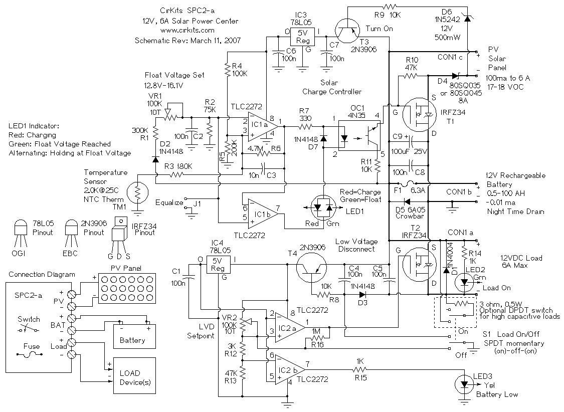 hight resolution of spc2 6 amp solar power center