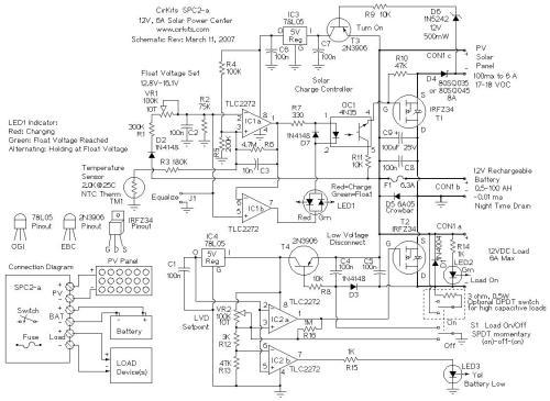small resolution of spc2 6 amp solar power center