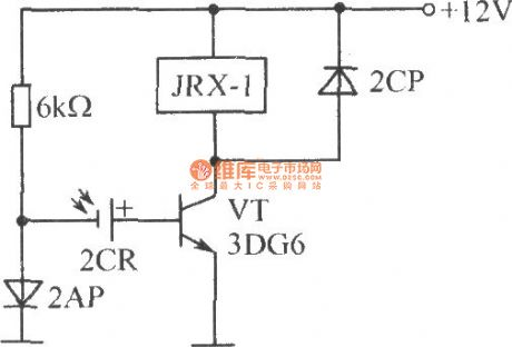 Light control switch circuit composed of silicon photocell
