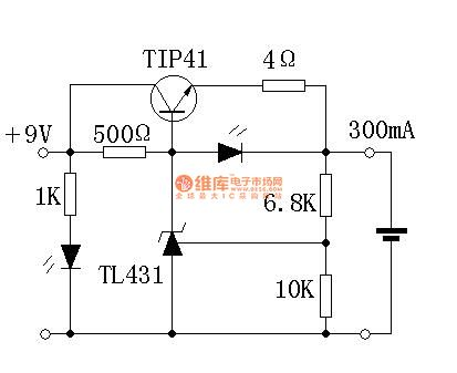 Li Ion Battery Charger With Tl431. simple lithium ion lipo