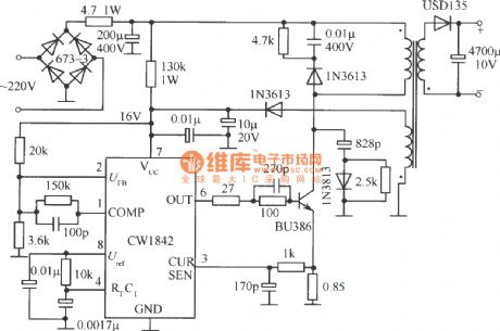 Electronic Tube Light Choke Circuit Diagram, Electronic