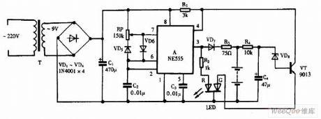 Using NE555 Skillfully as Pulsing Nickel-cadmium Battery