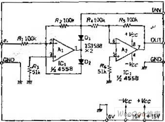 Availability of positive and negative output ideal diode