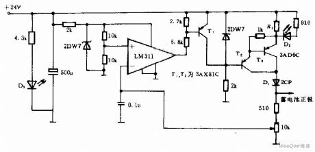 Cadmium Nickel Battery Charging Circuit of Automatic