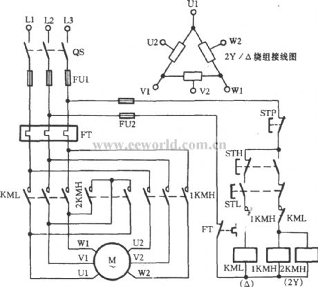 two speed three phase motor wiring diagram leviton smart switch 3 way index 4 - relay control circuit seekic.com