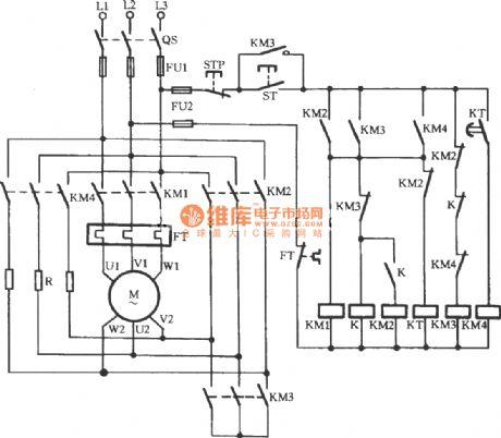 Ups Basic Circuit 220V LED Flasher Circuit wiring diagram