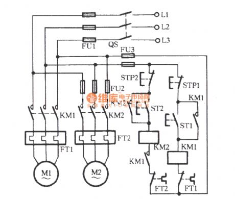 Electric Motor Control Circuit Diagrams Motor Control Circuit