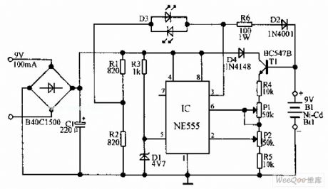 siwire: Pp3 Nimh Battery Charger Circuit Diagram