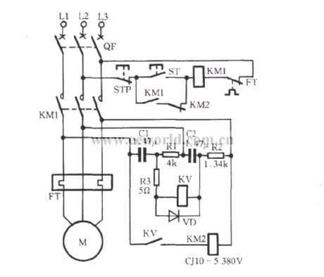 Resistance-capacitance phase protection circuit