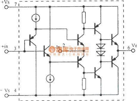 High-speed current feedback operational amplifier circuit