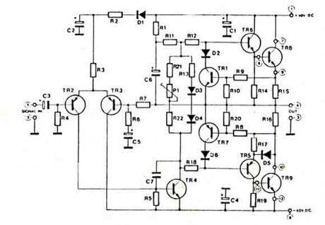 circuit diagrams of hi fi audio amplifiers Photos