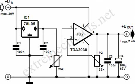 Diagram Of 100w Power Amplifier Power Supply Diagram