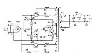 Ac Voltage Stabilizer Circuit Diagram UPS Circuit Diagram