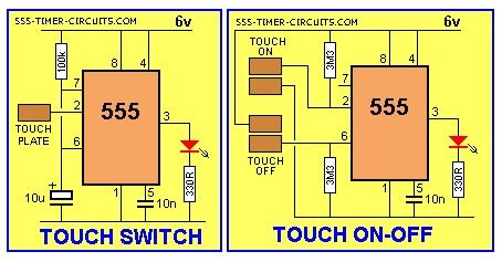 3 position toggle switch on off wiring diagram 2006 325i fuse box touch and on-off circuit - basic_circuit seekic.com