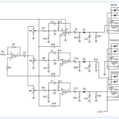 Audio Spectrum Analyzer Circuit Diagram 99 Jeep Cherokee Sport Radio Wiring Amplifier Circuits 3 Channel Electronic
