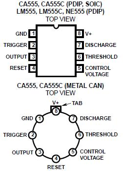 CA555E DATASHEET PDF