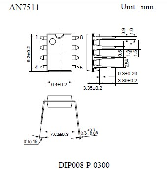 AN7511, US $ .27-.65, AN7511 DataSheet download, circuit
