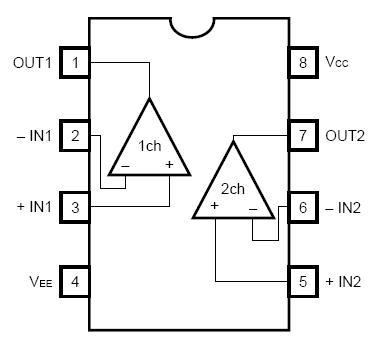BA4558, US $ .2-.51 , ROHM Semiconductor, BA4558 DataSheet