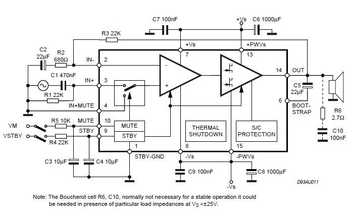 TDA7294 China (Mainland) Integrated Circuits