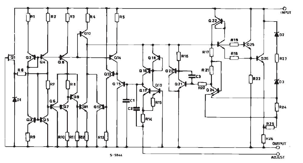 fixed positive voltage regulators
