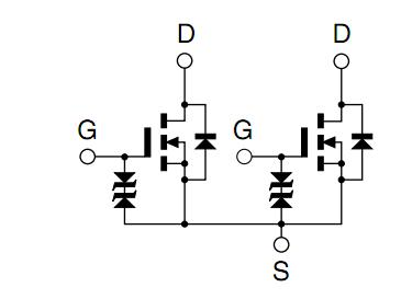 Mos Fet Voltage Source Diagram Silicon MOS FET Diagram