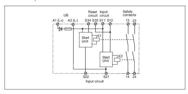 pilz relay wiring diagram