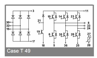 SK10DGDL126ET SEMIKRON IGBT Module Original supply, US