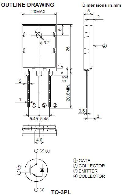 CT60AM-20 ,Mitsubishi Electric Semiconductor IGBT