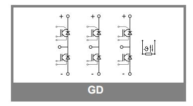 SEMIX253GD126HDC Semikron Trench IGBT Modules Original