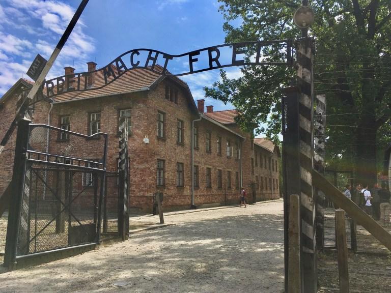 Auschwitz I Entry