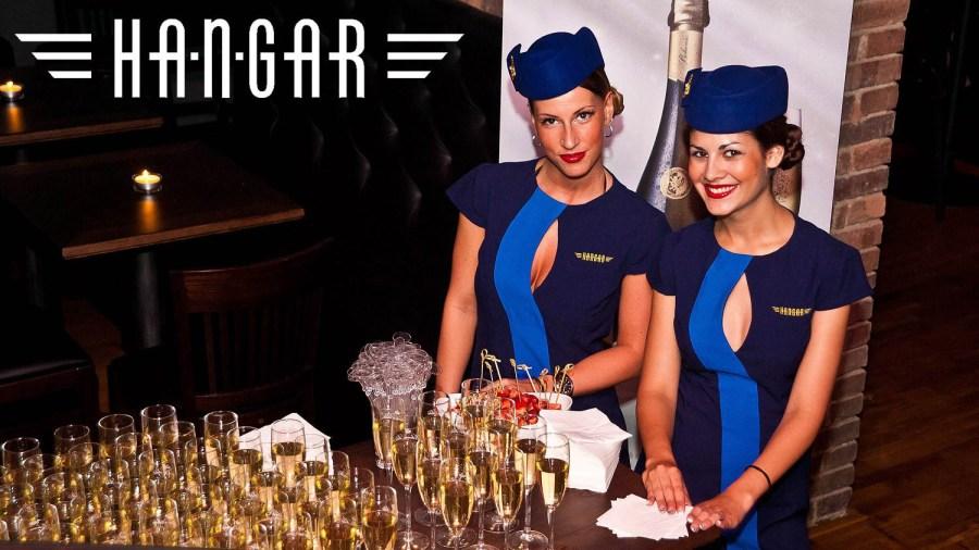 Prague pub crawl at Hangar bar