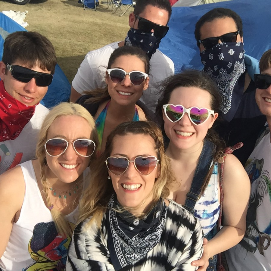 Coachella car camping tips