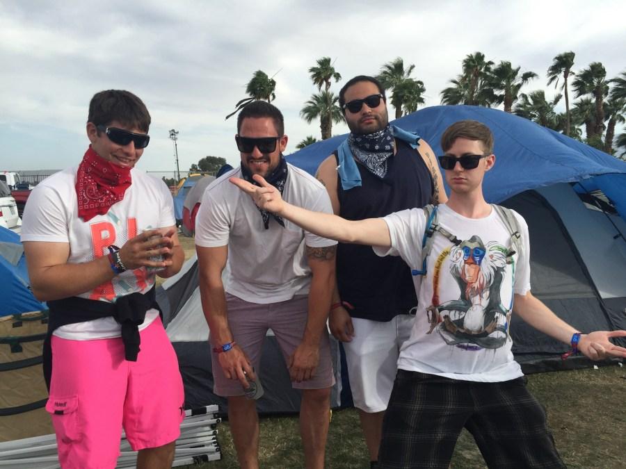 coachella car campting tips