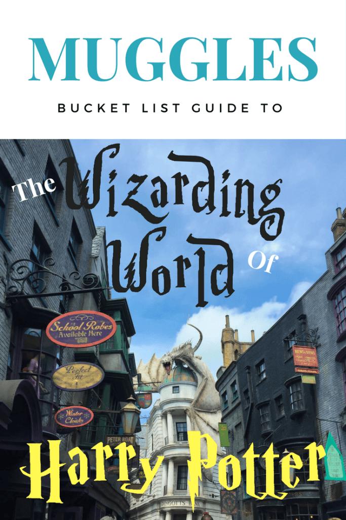 pinterest image for muggles bucketlist guide to harry potter world
