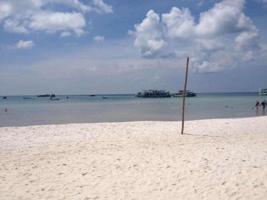 white sand beaches of Phu Quoc island