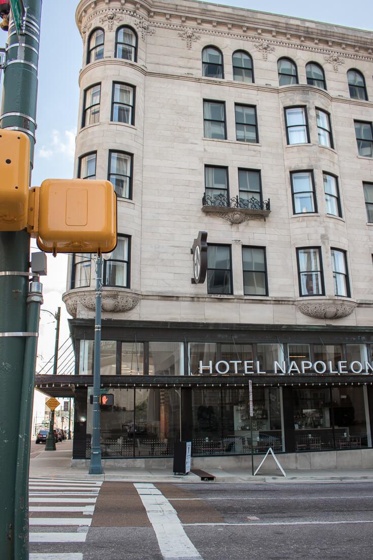 hotel napoleon memphis