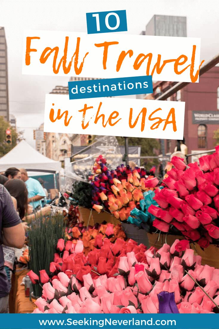 fall travel destinations usa