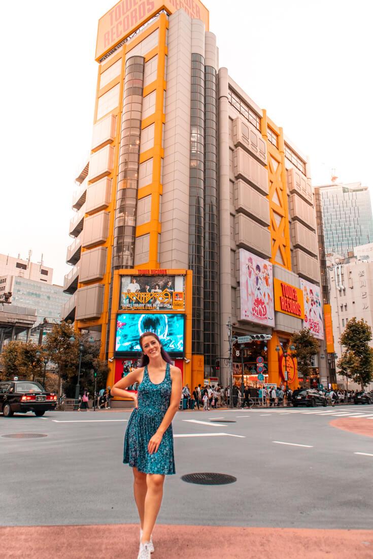 one week in tokyo