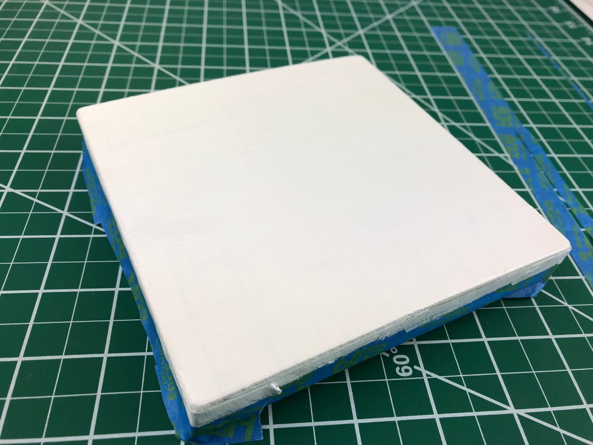 Small Primed Pined Panel for Abstract Painting