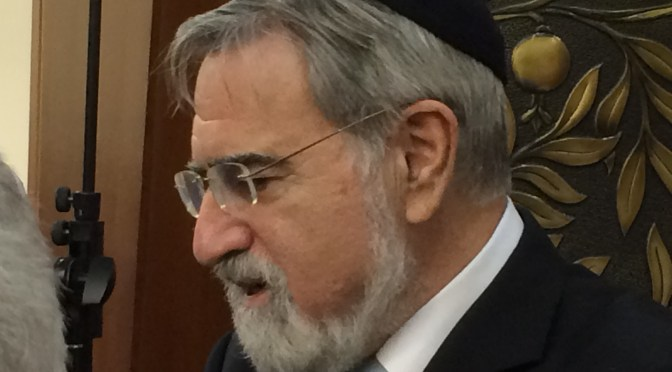3 Tips for a Miserable Country from Rabbi Jonathan Sacks