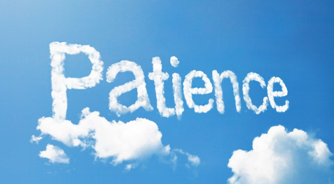 #MeditationMonday – Hebrew Meditation for Patience