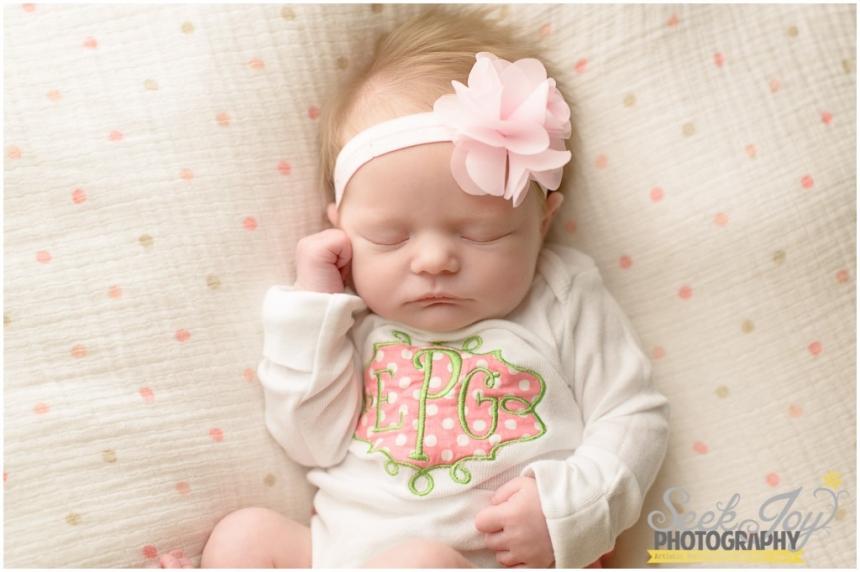 Newborn Ellisons Photography Session Mauldin SC  Seek